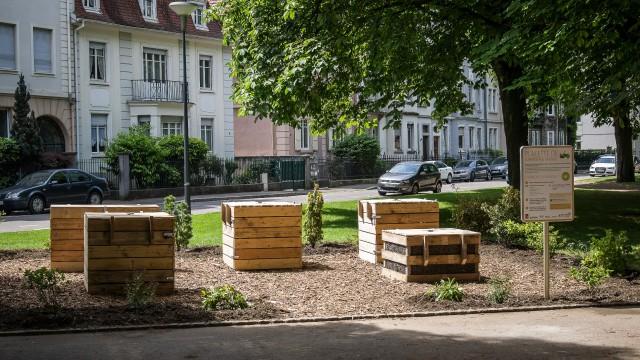 Placette compostage St Geneviève