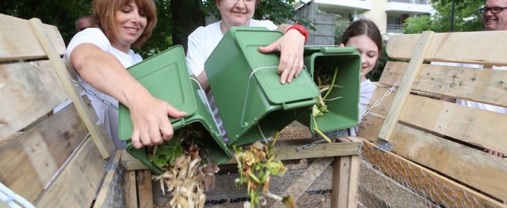 La placette de compostage partagé Daguerre
