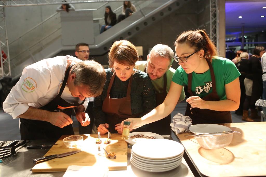 Le défi cuisine antigaspi a permis de sublimer les produits locaux en produisant le moins de déchets possible !