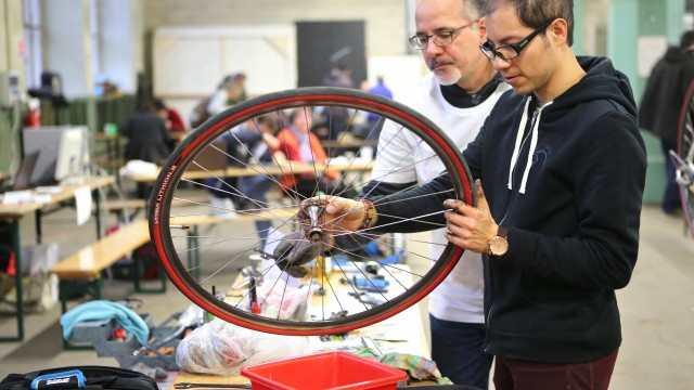 Atelier Poto'cyclettes pour donner un second souffle aux deux-roues.