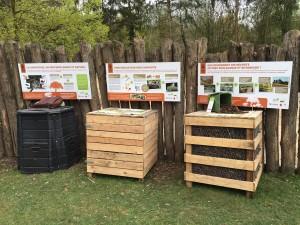 La placette de compostage pédagogique au Parc Zoologique et Botanique de Mulhouse